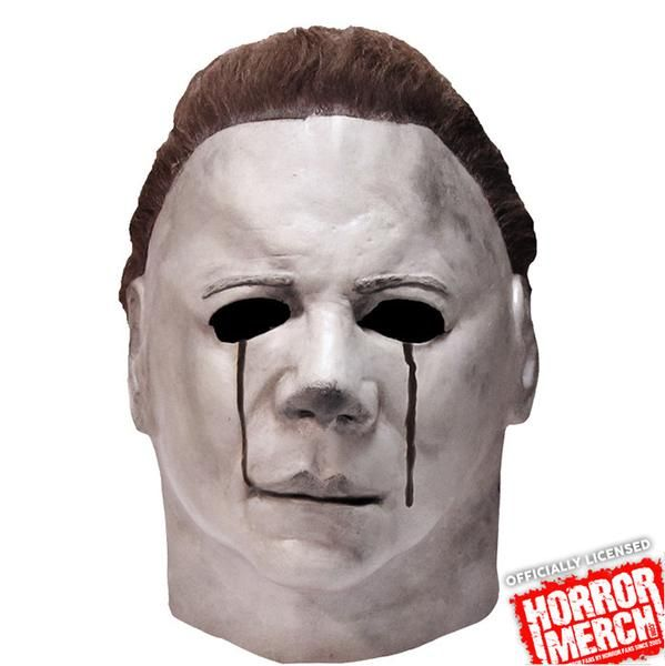 Officially Licensed Item This mask is an identical replica of the mask worn by one of the most famous movie serial killers of all time, in Universal's Halloween II, a spine-tingling dark ride into the scariest night of the year.This item is made for display purposes but may also be worn or used depending on your actual size.