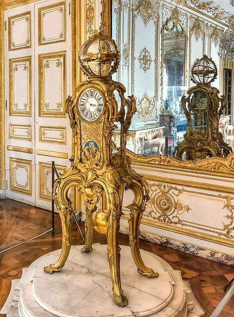 Pendule astronomique de Passement,Palace of Versailles