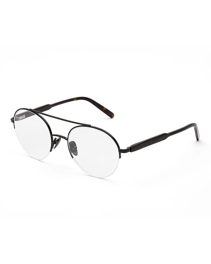 SUPER NUMERO 24 ROUND AVIATOR OPTICAL FRAMES. #super #