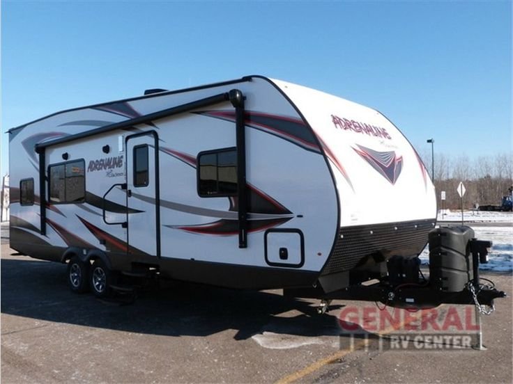 New 2016 Coachmen RV Adrenaline 26CB Toy Hauler Travel Trailer at General RV | Wayland, MI | #130429