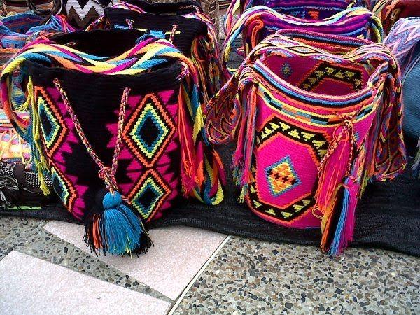 mochilas colombianas <3
