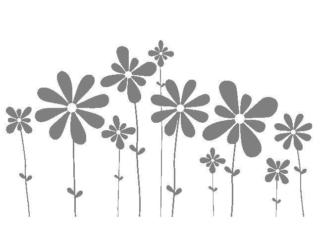 """. Vinilos Adhesivos Florales """"Optimismo Floral"""" 02787 - Tienda online de vinilos decorativos, stickers, wall art, decoración"""