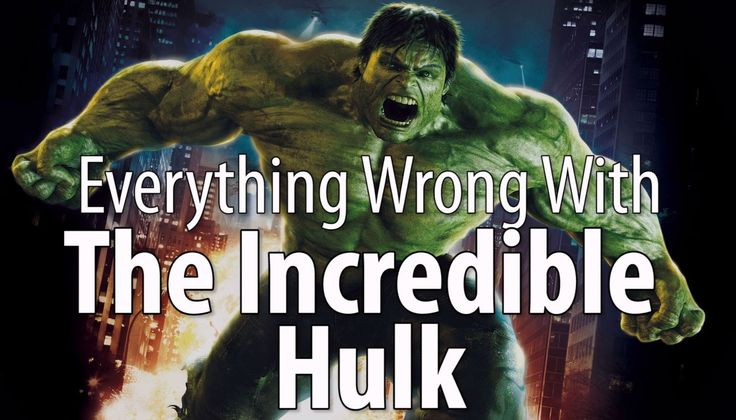 "Liked on YouTube: Everything Wrong With The Incredible Hulk Dammit. They made another mediocre Hulk movie!  Harry's razors: http://harrys.com (code ""cinemasins"")  Jeremy's book is out tomorrow! http://theablesbook.com  Remember no movie is without sin. Which movie's sins do YOU want to see recounted?   Tweet us: http://twitter.com/cinemasins Tumble us: http://ift.tt/1p6O6mW Call us: 405-459-7466 Reddit with us: http://ift.tt/1zISJXa"