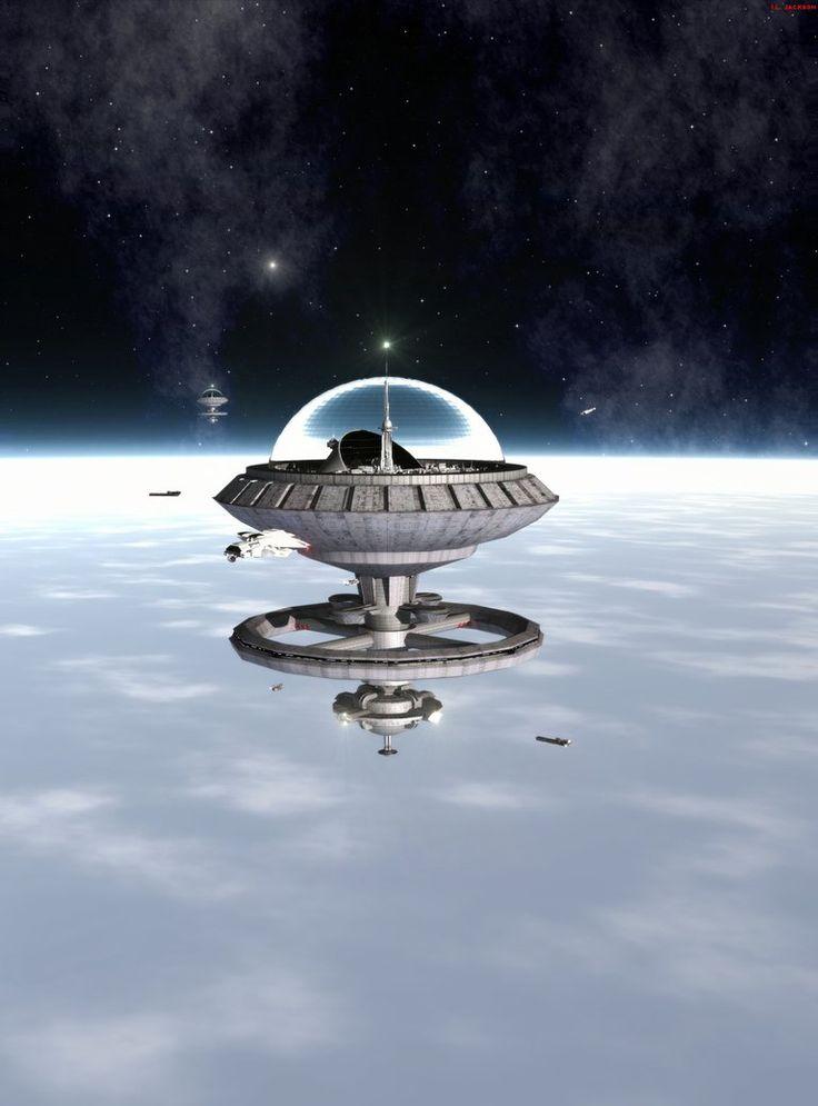 futuristic donut space station - photo #40