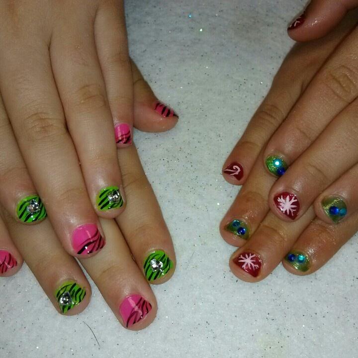 Little Google1 Nail Art: 17 Best Images About Little Girl Nail Art On Pinterest