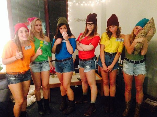Seven Dwarfs | 16 Group Halloween Costumes For You And Your Squad