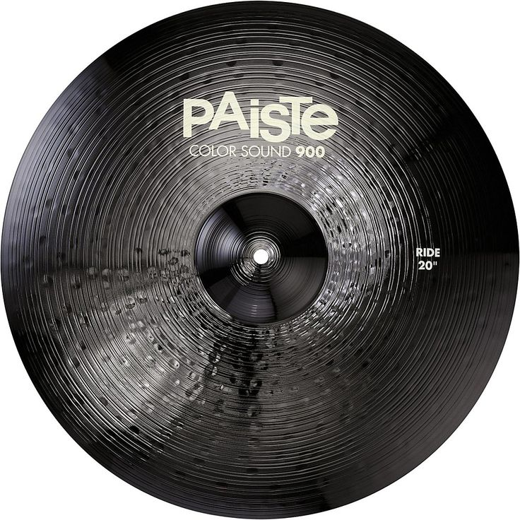 Paiste Colorsound 900 Ride Cymbal Black 20 in.