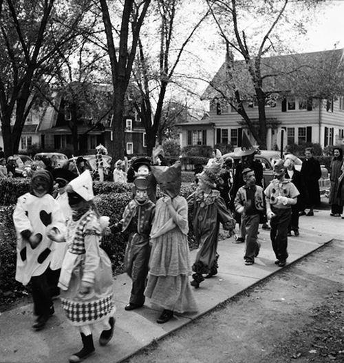 Halloween Parade - Ann Arbor Michigan - 1957