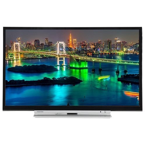 Tesco direct: Toshiba 28W3753DB 28in HD Ready Smart TV with Freeview Play