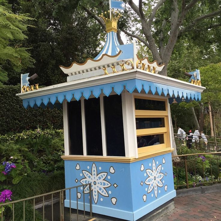 This lonely little Fantasyland kiosk most recently a Kodak kiosk designed by Disney Imagineer and Legend Rolly Crump deserves to be restored and put back into service! Do you agree? by michael_bowling_the_dis
