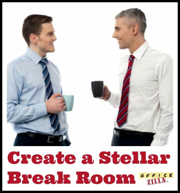 Create a Stellar Office Break Room http://wp.me/p2Qhap-2eB #office #work