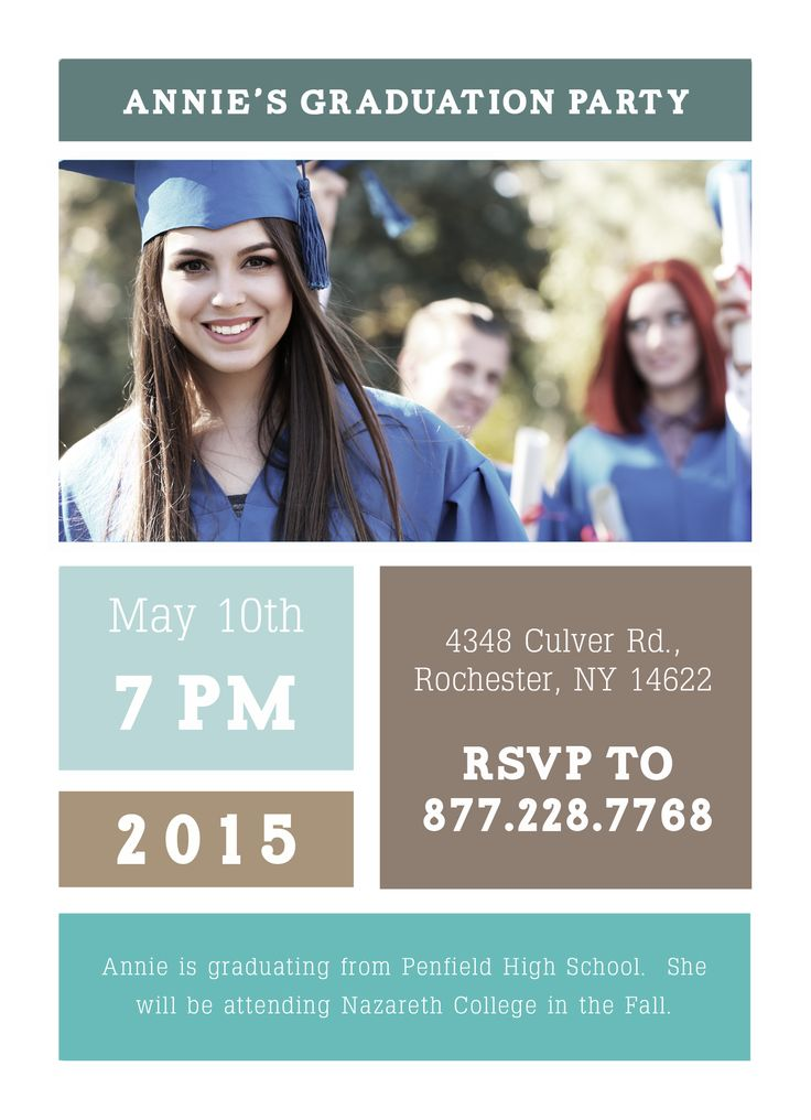 the 42 best images about graduation on pinterest, Party invitations