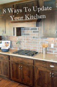 8 Ways to update your kitchen, without breaking the bank.