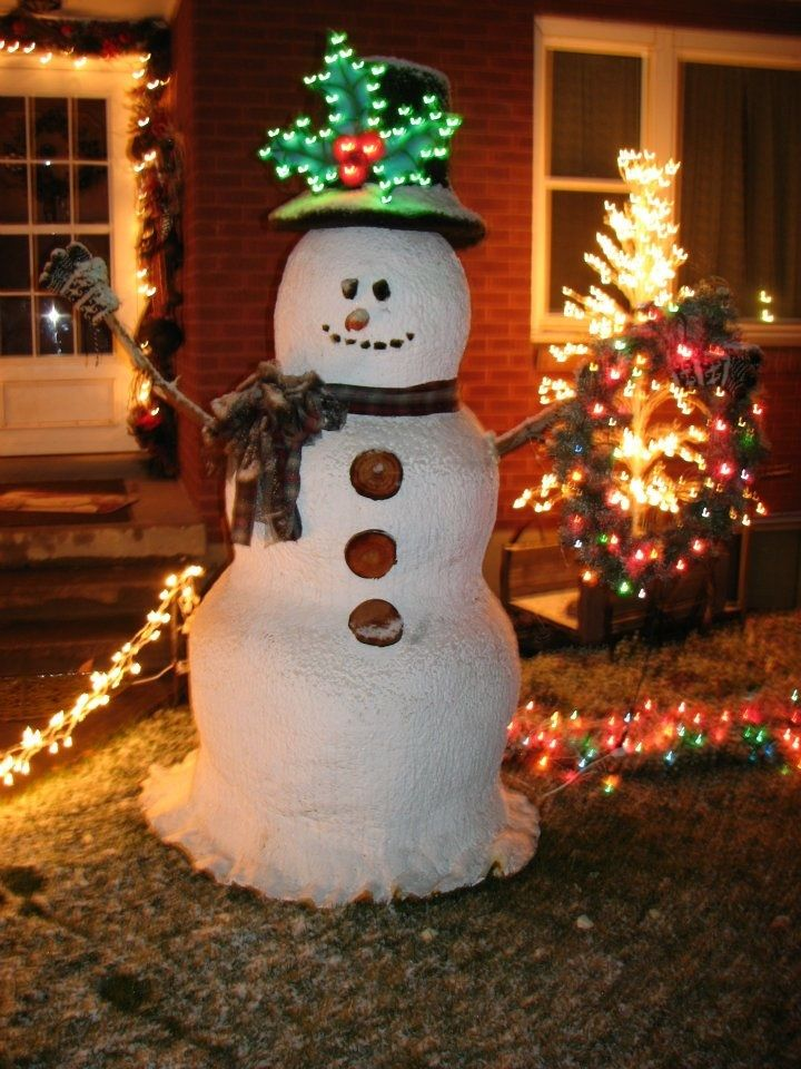 17 best images about spray foam ideas on pinterest for Christmas snowman decorations