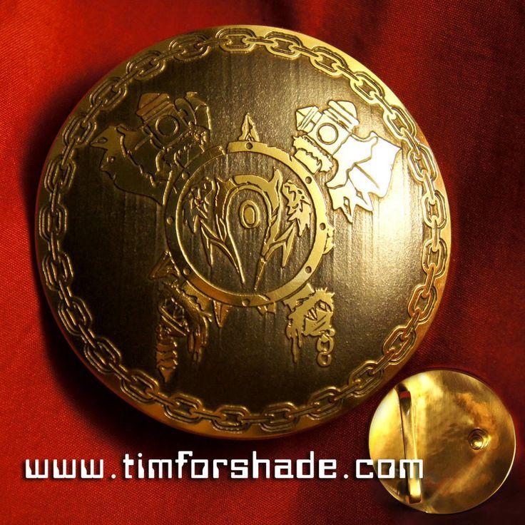 Horde Orc Warcraft Belt brass buckle vol.1 by TimforShade on DeviantArt