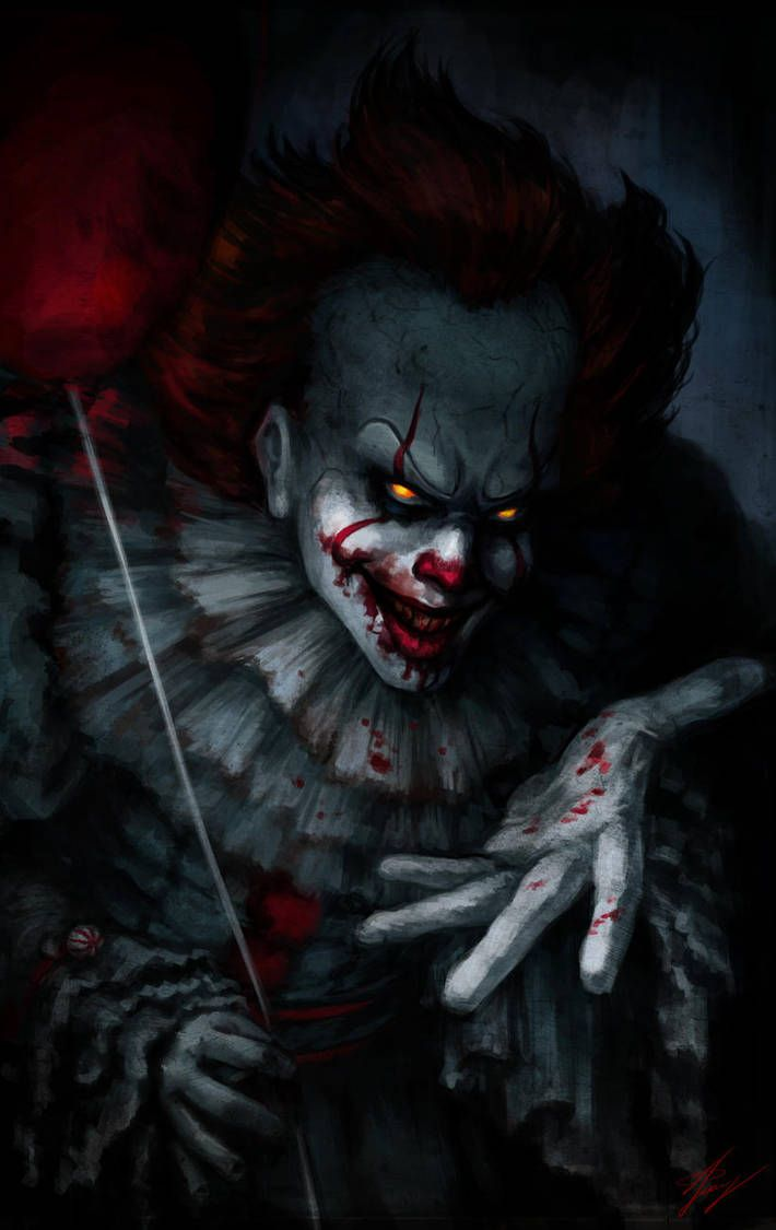 Pennywise by Anariel27 in 2019 Clown horror, Horror