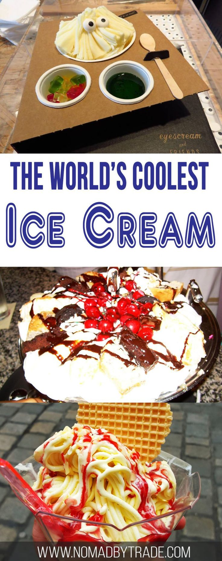 Globetrotting travel bloggers from around the world share the coolest ice creams they've ever had. #Foodie | #IceCream | #desserts
