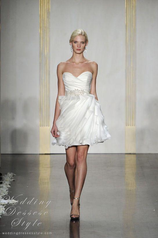 Tara Keely Pretty And Stylish White Short
