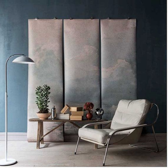 Clouded mur peinture murale, papier peint Scene de ciel, nuage Scene - 100 « x 96 »