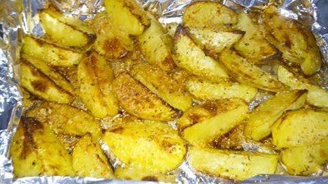 Receita de Batatas Rústicas ao Forno - Receita Toda Hora