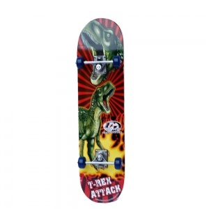 Dinosaurs Stickers Maple Deck Complete Skateboard    Dinosaurs Stickers Maple Deck Complete Skateboard. Christmas Shopping, 4% off plus free Christmas Stocking and Christmas Hat!
