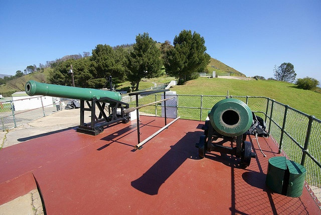 Signal hill with the noon guns, days with tj