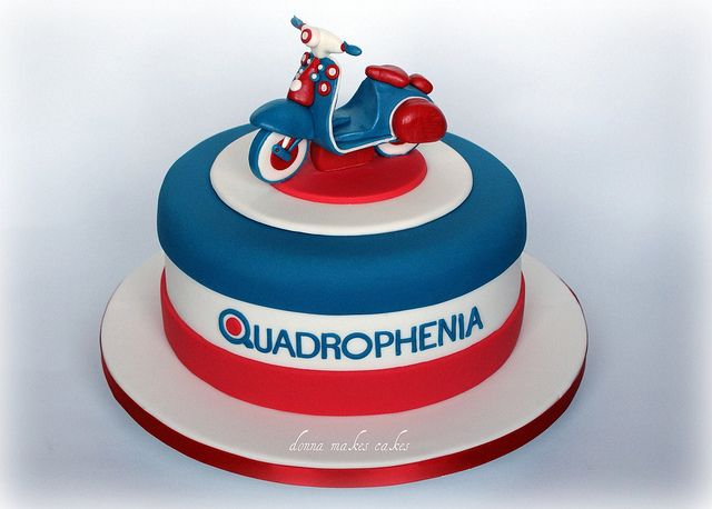 Quadrophenia Cake by donna_makes_cakes, via Flickr