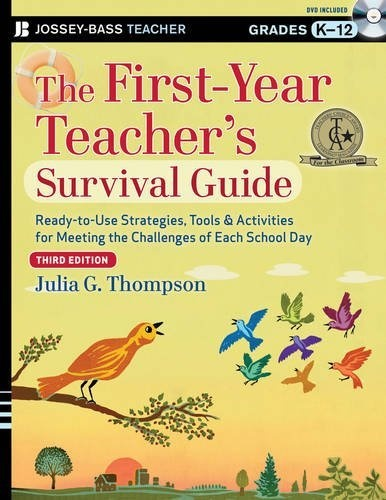 The First-Year Teacher's Survival Guide: Ready-to-Use Strategies, Tools and Activities for Meeting the Challenges of Each School Day (J-B Ed: Survival Guides) by Julia G. Thompson, http://www.amazon.com/dp/1118450280/ref=cm_sw_r_pi_dp_rW2jrb0QBXKXQ