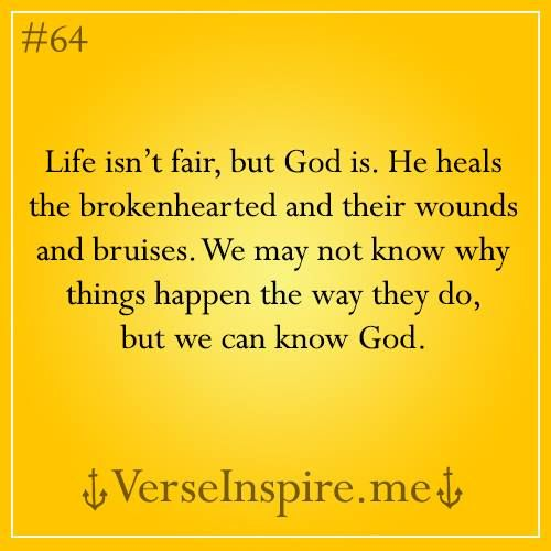Lifes Not Fair But God Is Good Inpirational Quotes Quotes
