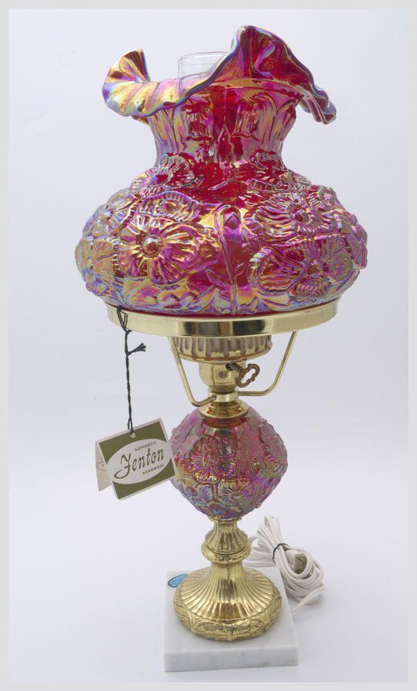 411 best Fenton Lamps images on Pinterest | Fenton lamps ...