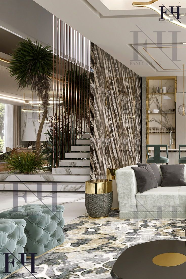 High End Interior Design Dubai Dizajn Interera V Stile Retro Sovremennyj Dizajn Interera Eksklyuzivnyj Dizajn Interera