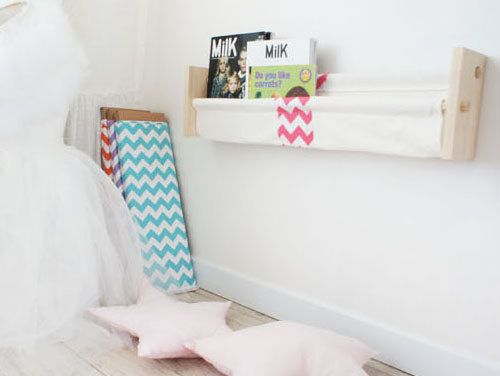 SchmoozingWall Hanging CanvasChevron by Toriee by gainstory, $109.00
