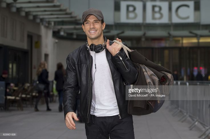 Strictly Come Dancing finalist Danny Mac arrives at Broadcasting House, London, ahead of this weekend's final of the BBC's popular Saturday night TV show.
