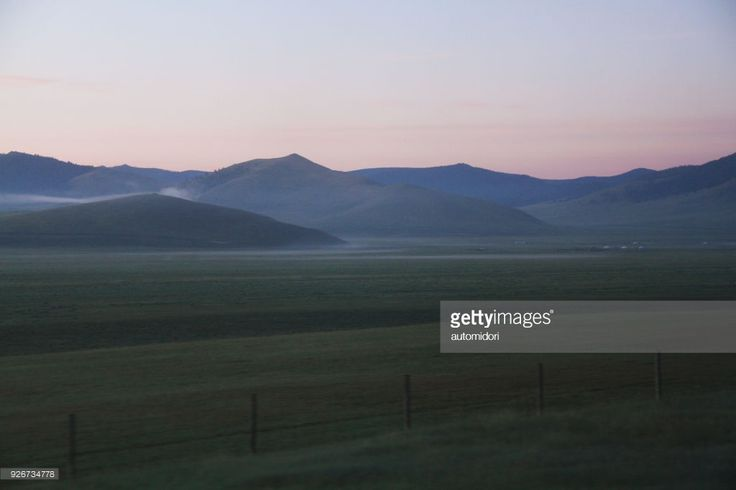 It was on my Trans-Mongolia journey from Irkutsk in Russia to Ulaanbaatar in Mongolia. I woke up to the most glorious twilight dawn ever. While being awed, I made sure my finger didn't forget to click. See those little white dots? They are the Mongolian yurts which they call 'ger'. Now you get the sense of how vast this view through a train window is.