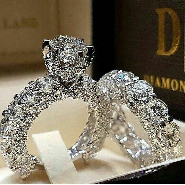 Geeeeeezzzzzzuuuuussssss Engagement Wedding Ring Sets