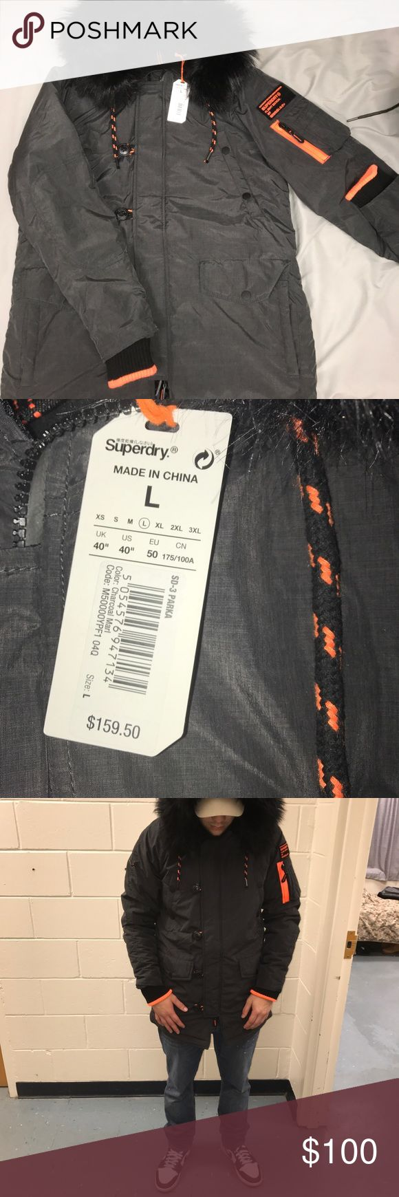 Brand new Super Dry Black Fur Jacket #nike #jordan #adidas #yeezy #puma #fila #champion #underarmour #supreme #bape #vlone #obey #DGK #truereligion #levis #huf #pacsun #forever21 #gap #gucci #fendi #prada #versace #louisvuitton #urbanoutfitters #forever21 #newbalance #reebok #10deep #zumiez #tommyhilfiger #Graw #express #armaniexchange #nfl #nba #clothes #shirt #pants #polo Super Dry Jackets & Coats