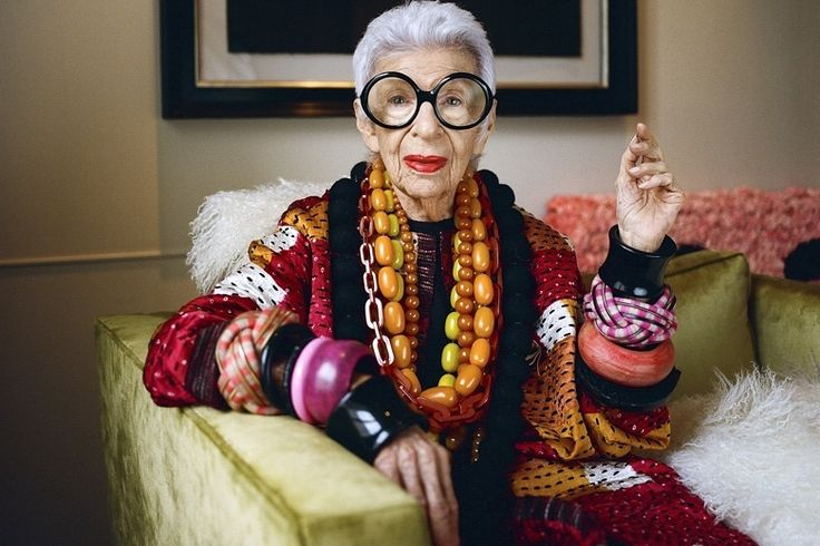 Iris Apfel: 'If God is good enough to give you those years, flaunt ...