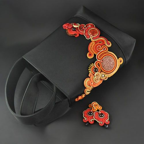 Soutache Purse - Pakamera.pl