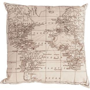 Atlas Cushion Natural 50 x 50cm from Homebase.co.uk