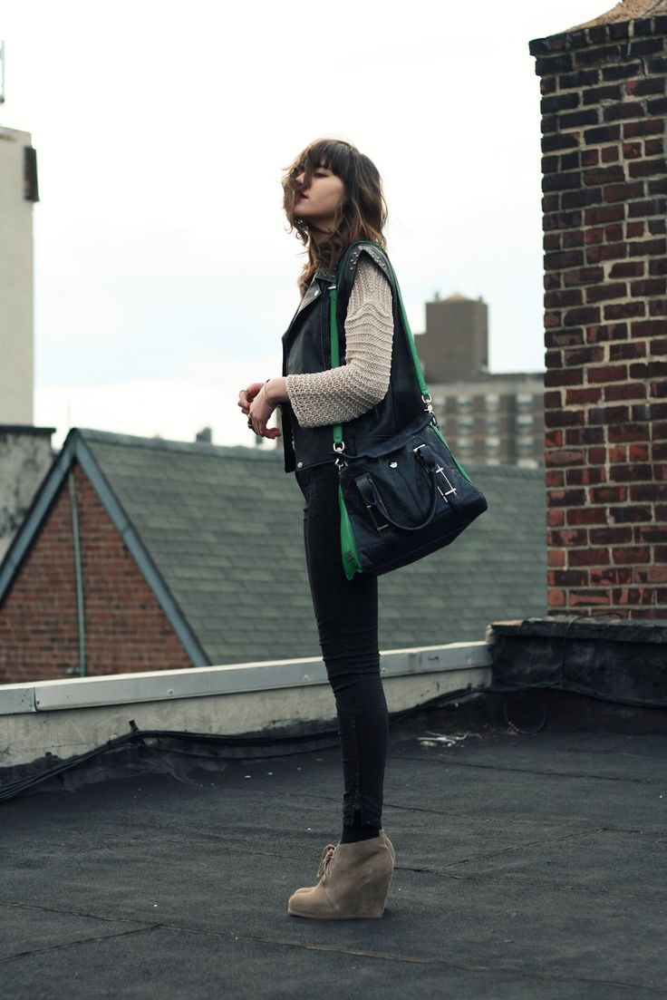 Best 25 Leather Vest Outfit Ideas On Pinterest Leather
