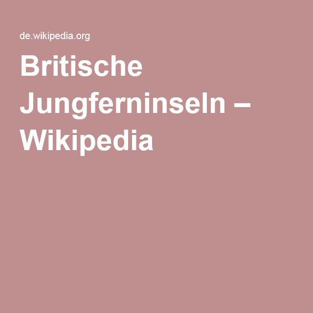 Britische Jungferninseln auf Wikipedia #bvi