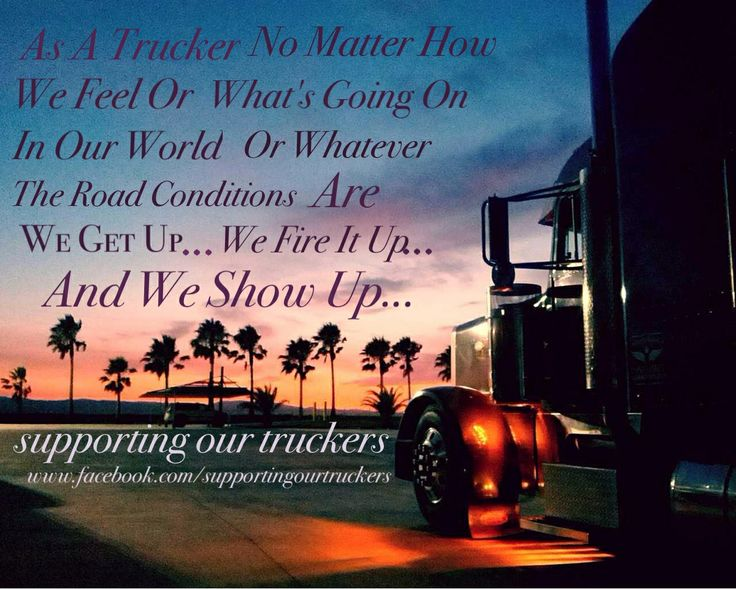 Trucking Fb page supporting our truckers Www.facebook