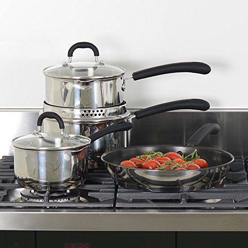 ProCook Gourmet Steel Cookware Set 4 Piece ProCook http://www.amazon.co.uk/dp/B003YFU0D0/ref=cm_sw_r_pi_dp_5dCOub19CYEQN
