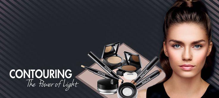 Perfektes Make-up durch Contouring