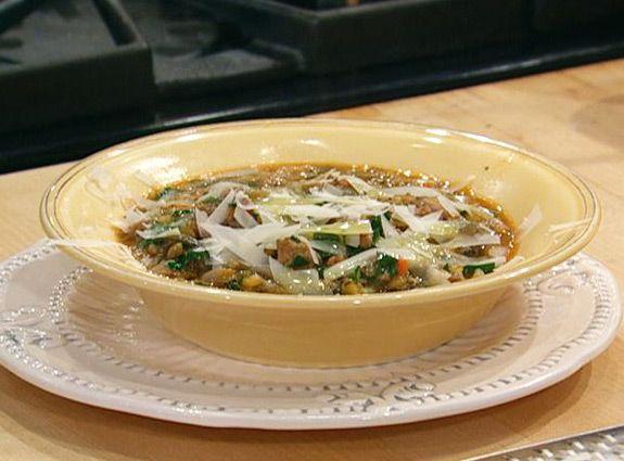Spicy sausage and lentil soup. | Soups | Pinterest