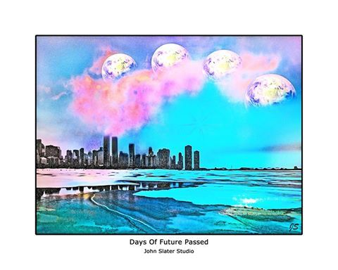 Days Of Future Passed © John Slater Studio