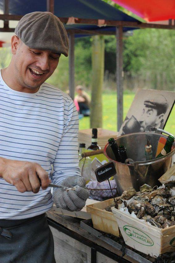 Fresh oysters by www.ziltenzalig.nl