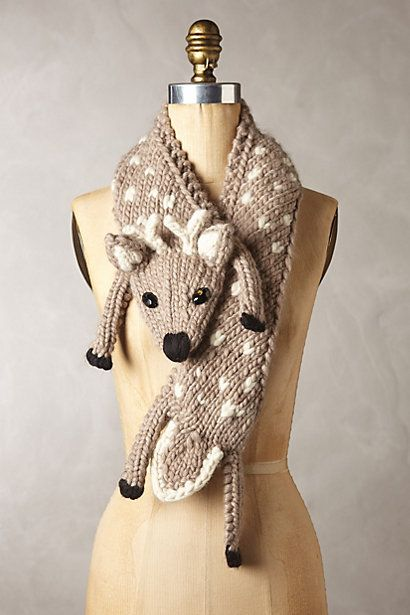 How super cute is this scarf? Cute away the cold #anthroregistry