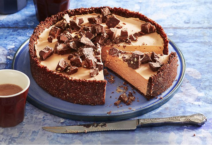 If you like Toblerones, this cheesecake recipe is a real treat. It only takes 30 minutes to prep – the hardest part is waiting for it to set before digging in!