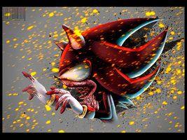 zombie shadow the hedgehog | SHADOW ZOMBIE v.2 by GodzillaJAPAN